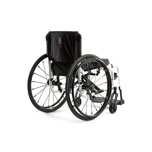 Light Folding Wheelchair - Aero X Back