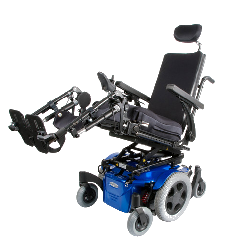 Power, Mid wheel drive Wheelchair - Quickie Pulse