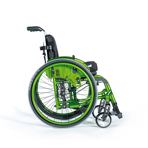 Paediatric Folding Wheelchair - Youngster 3 - Left View